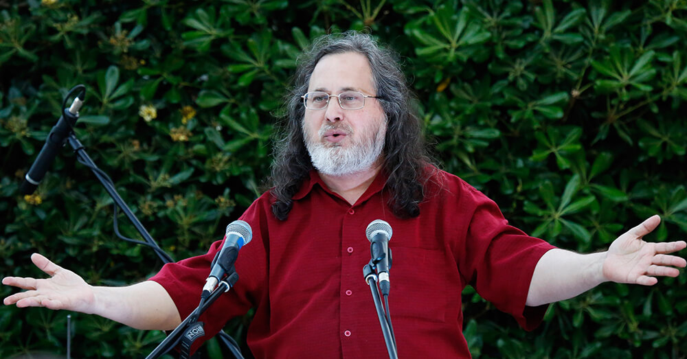 Richard Stallman WordPress GPL
