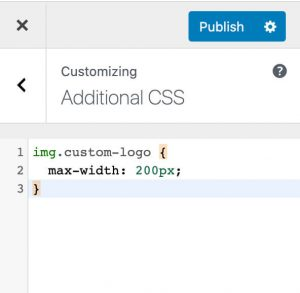 Paste the css code