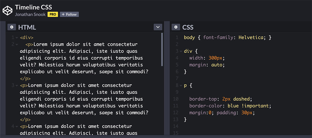 Copy html and css