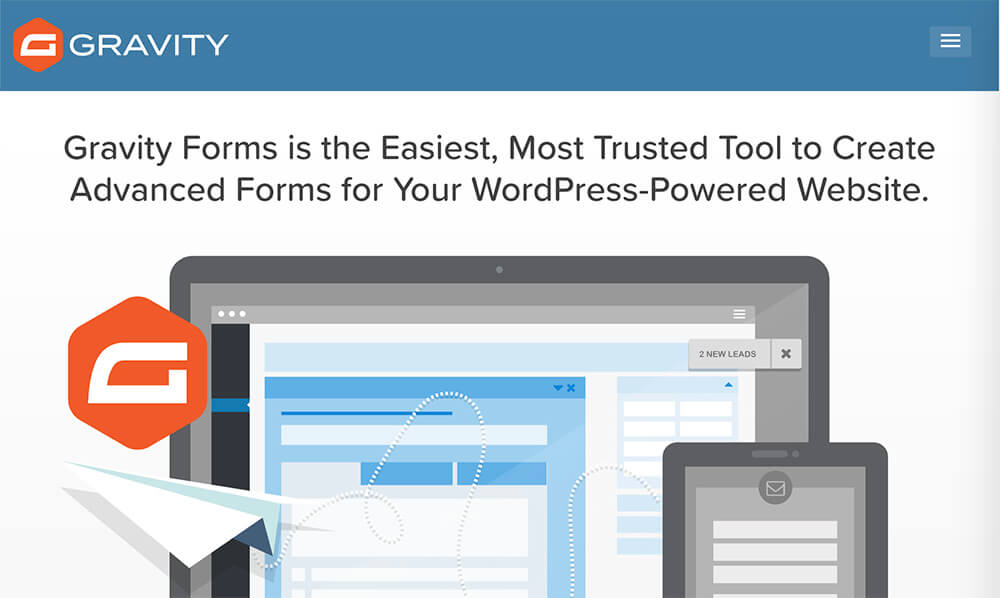 Gravity WordPress plugin