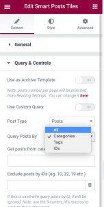 JetBlog Query & Controls