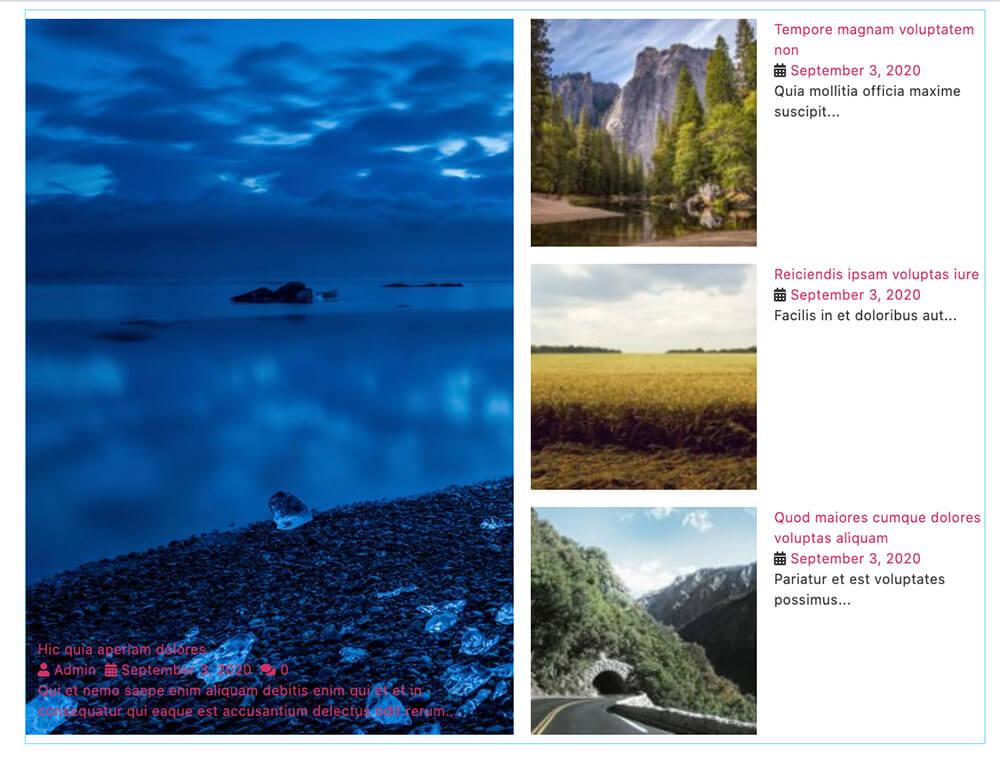 JetBlog Smart Posts List Widget