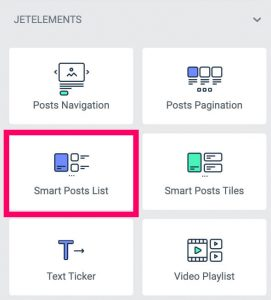 Smart Posts List by JetBlog