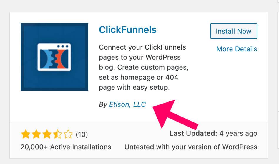 Clickfunnels WordPress plugin