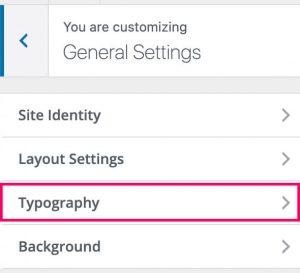 Divi Typography