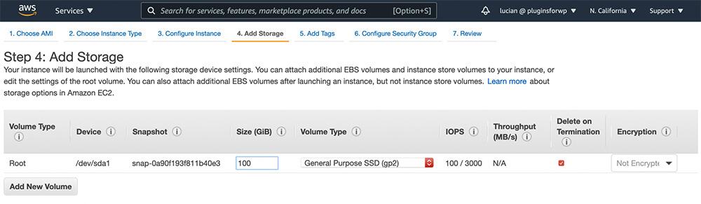 Option to add storage