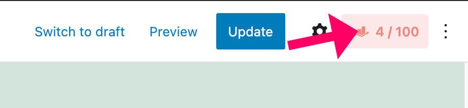 Rank Math on-page settings