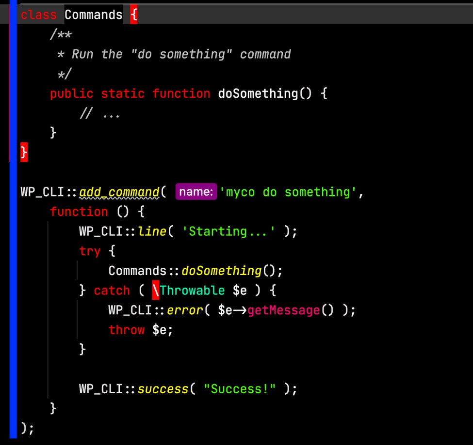 Creating a custom wp-cli command