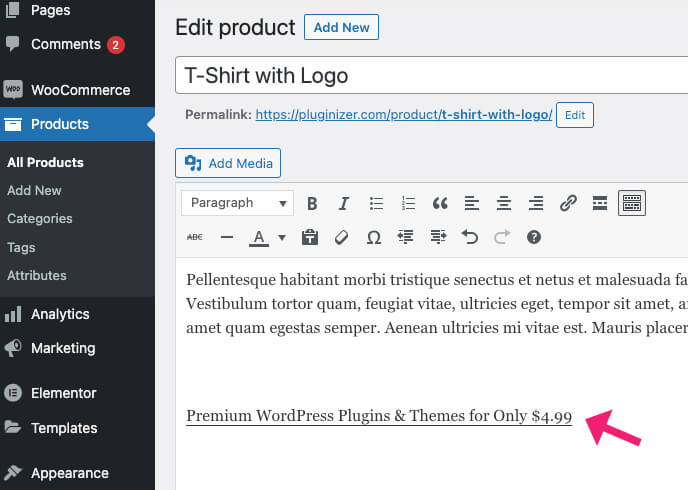 Embed PDF in the classic editor