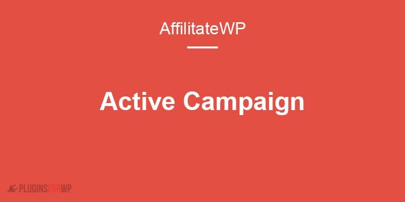 AffiliateWP – ActiveCampaign