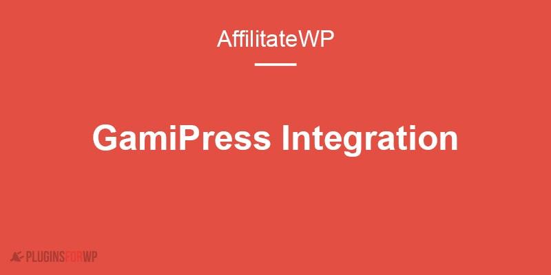 GamiPress – AffiliateWP integration