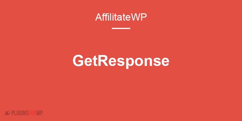 AffiliateWP GetResponse Add-on