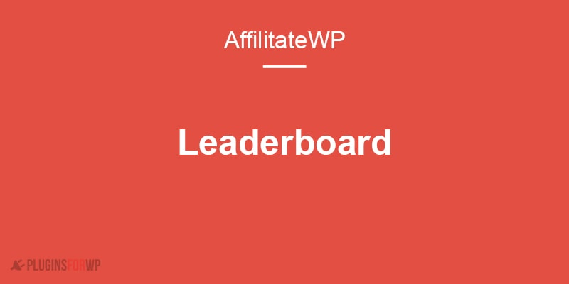 AffiliateWP – Leaderboard