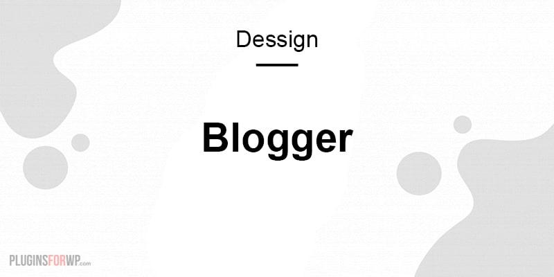 Blogger Responsive WordPress Theme