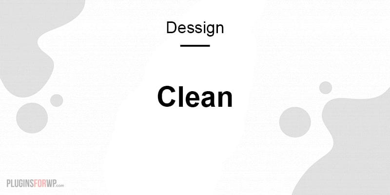 Clean Dessign