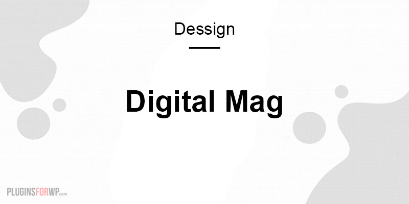 Digital Mag Responsive WordPress Theme