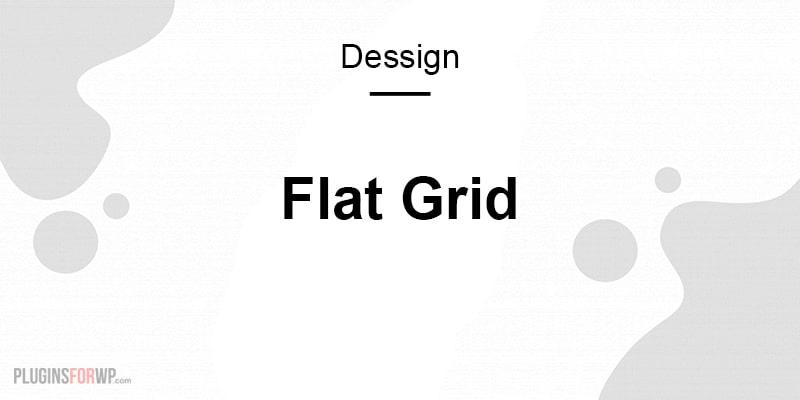 Flat Grid Responsive WordPress Theme Premium
