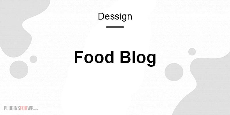 Food Blog Responsive WordPress Theme