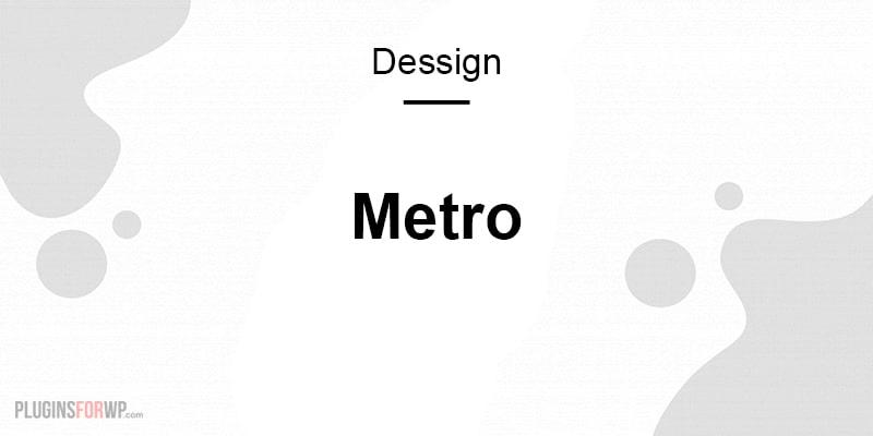 Metro Responsive WordPress Theme