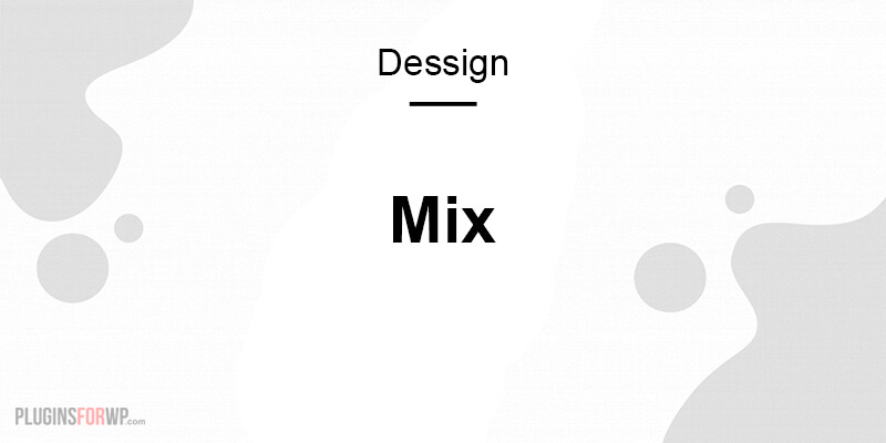 Mix Responsive Theme
