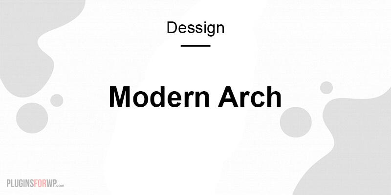 Modern Arch Responsive Theme