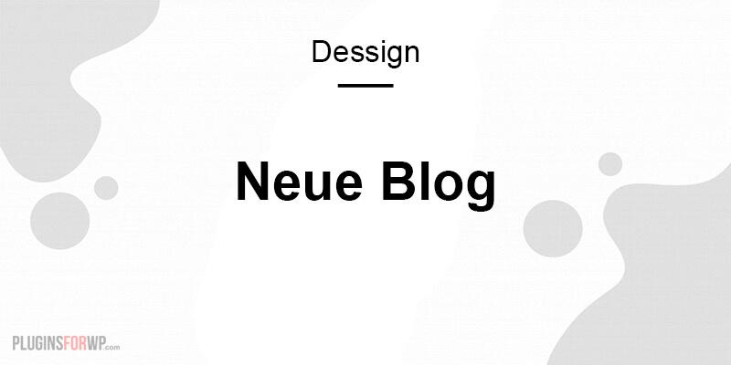 Neue Blog Responsive WordPress Theme
