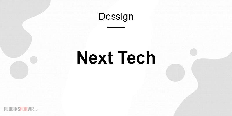 Next Tech Responsive WordPress Theme