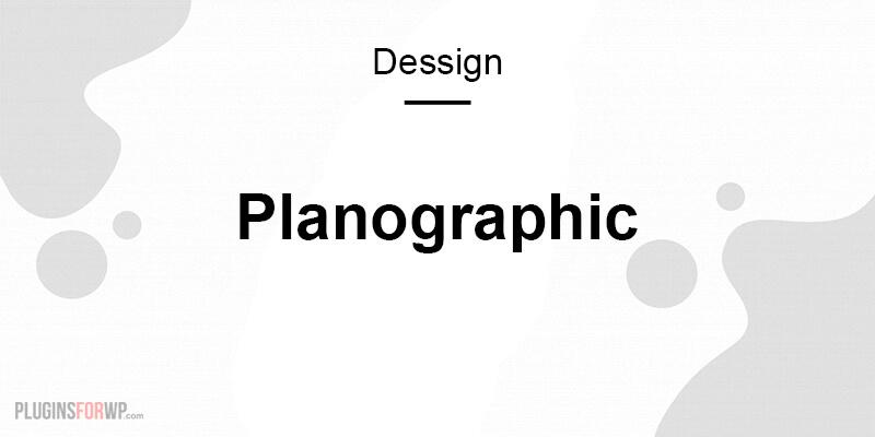 Planographic Theme Responsive
