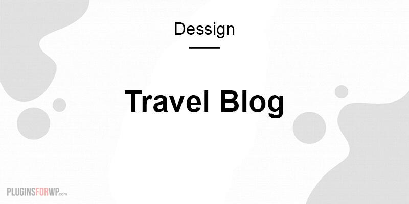 Travel Blog Responsive WordPress Theme
