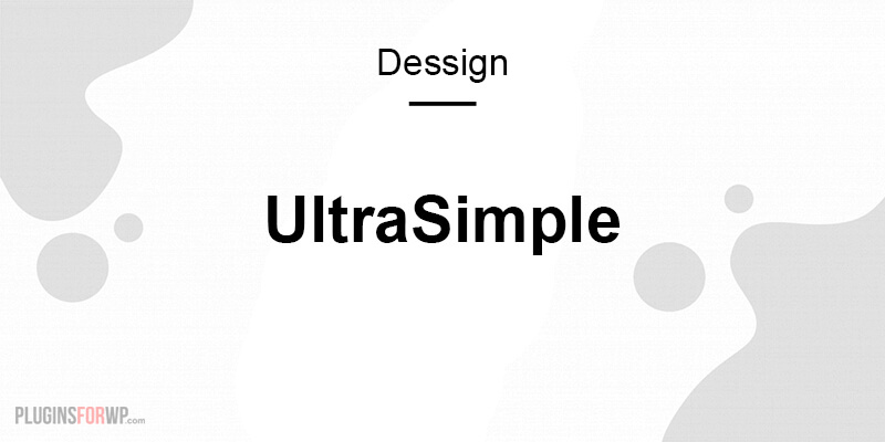 UltraSimple Responsive Theme
