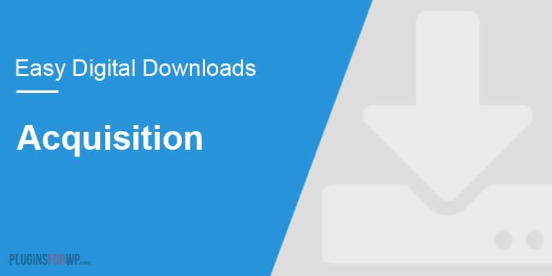 Easy Digital Downloads – Acquisition Survey