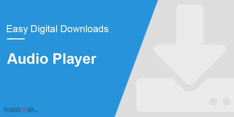 Easy Digital Downloads – Audio Player