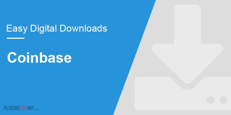 Easy Digital Downloads – Coinbase