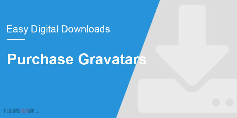 Easy Digital Downloads – Purchase Gravatars