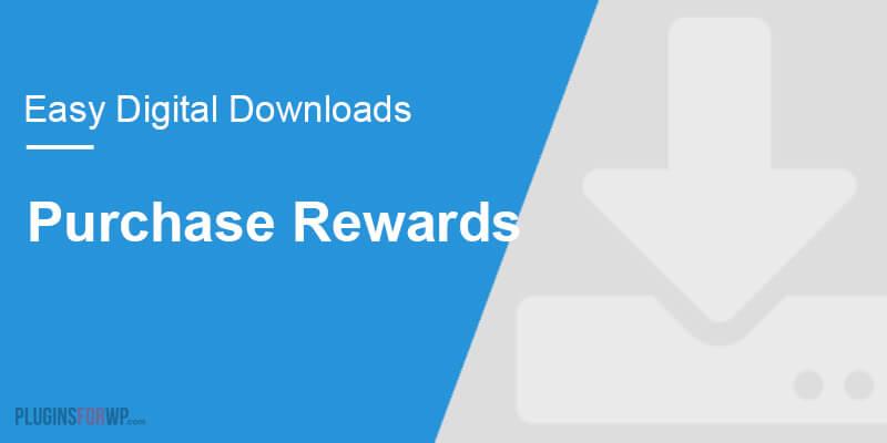 Easy Digital Downloads – Purchase Rewards