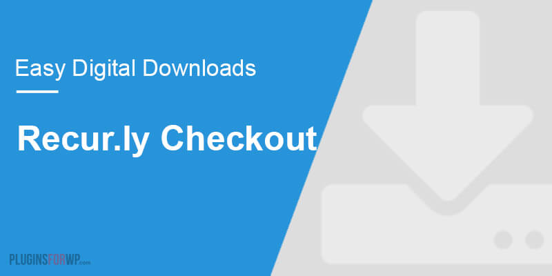 Easy Digital Downloads – Recur.ly Checkout