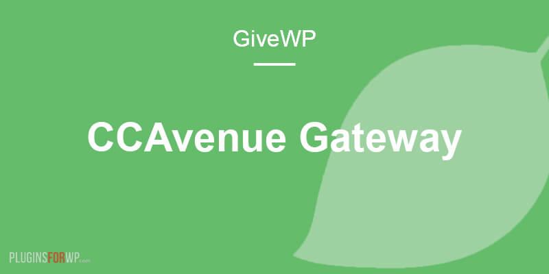Give – CCAvenue Gateway