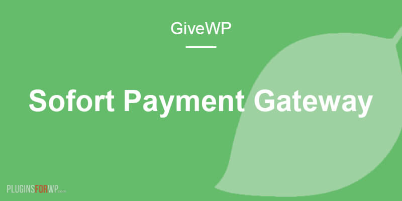 Give – Sofort Payment Gateway