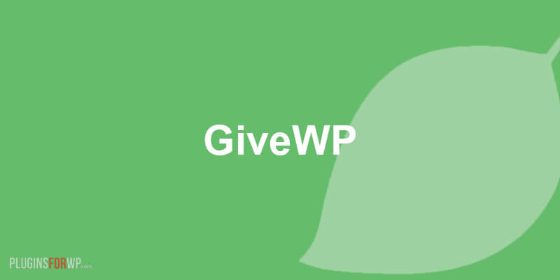 Give – Donation Plugin