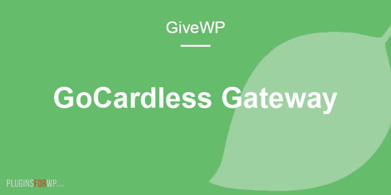 Give – GoCardless Gateway