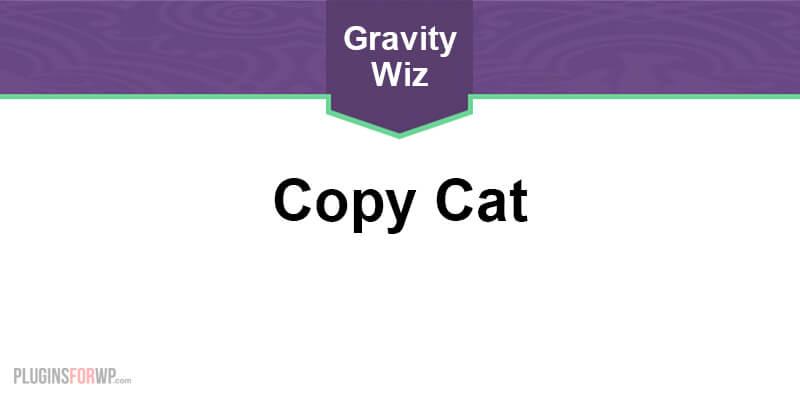 GP Copy Cat