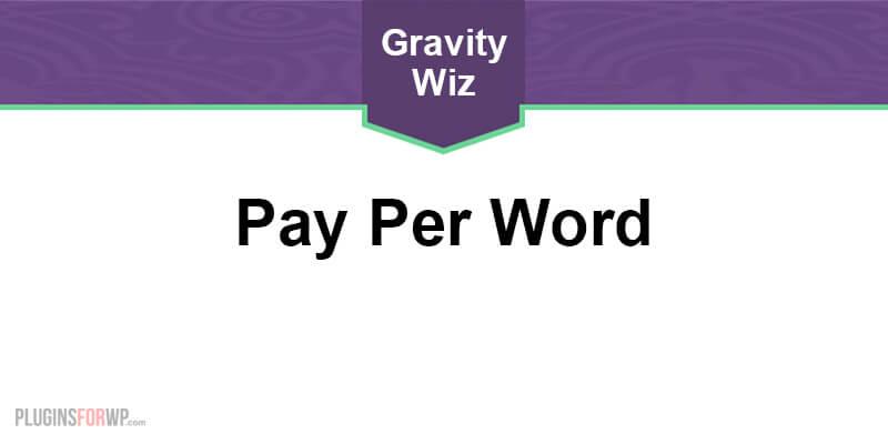 GP Pay Per Word