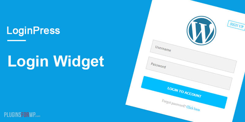 LoginPress – Login Widget