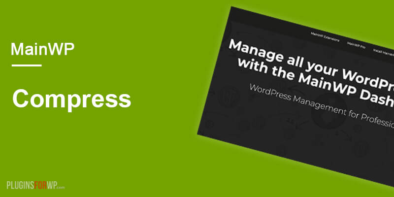 MainWP WP Compress Extension