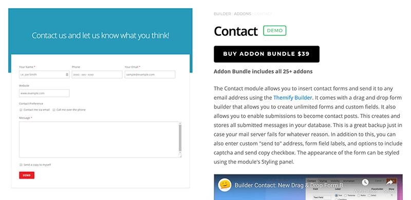 Builder Contact