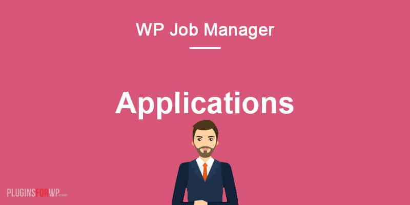 WP Job Manager – Applications