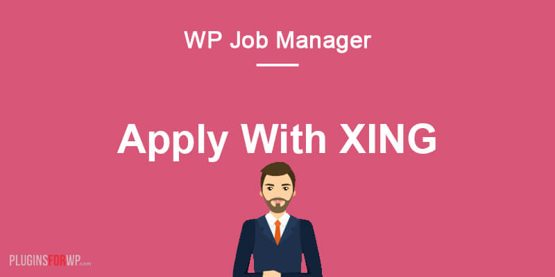 WP Job Manager – Apply with XING