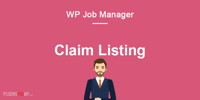 Claim Listing for WP Job Manager