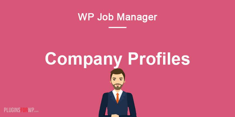WP Job Manager – Company Profiles