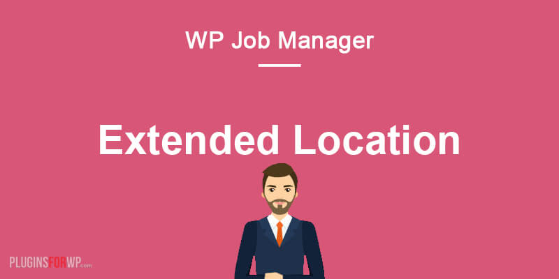 Extended Location for WP Job Manager